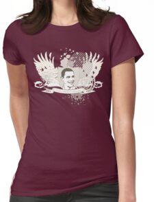 obama : hi-fi Womens Fitted T-Shirt