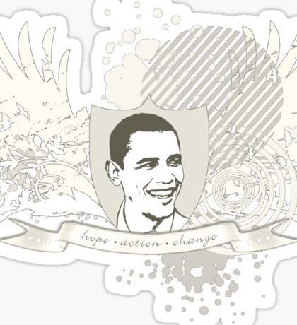 obama : hi-fi Sticker