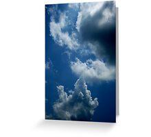 Water in the Skies Greeting Card