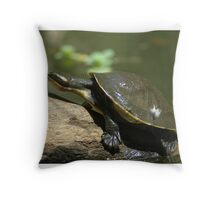 Tortoise. Throw Pillow