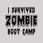 I SURVIVED ZOMBIE BOOT CAMP by Zombie Ghetto by ZombieGhetto