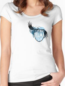 obama : hi-fi crest Women's Fitted Scoop T-Shirt