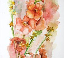 English Verbascum by LuAnnDunkinson