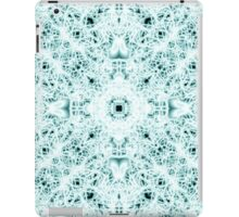 """Spirit of India: Two Crosses"" in white and turquoise iPad Case/Skin"