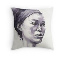 Portrait of Susannah Throw Pillow