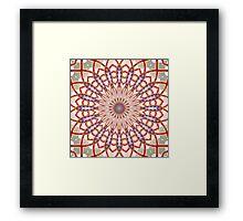 'KaliFract 101' Framed Print
