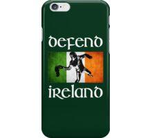 defend ireland flag iPhone Case/Skin