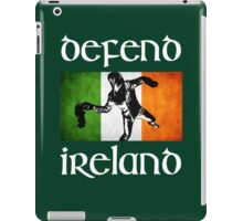 defend ireland flag iPad Case/Skin