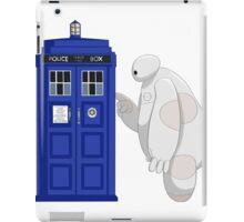 Baymax meet TARDIS iPad Case/Skin