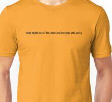 158 Nose Running Unisex T-Shirt