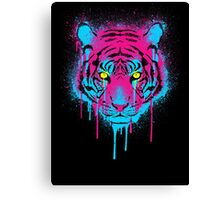 CMYK tiger Canvas Print