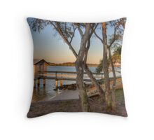 Boatshed-9054-HDR Throw Pillow