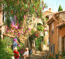 Grimaud France by Murray Swift