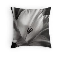 Gladiola IV Throw Pillow