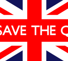 God Save The Queen UK Flag Sticker