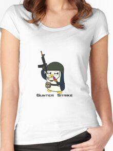Gunter Strike  Women's Fitted Scoop T-Shirt