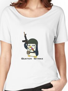 Gunter Strike  Women's Relaxed Fit T-Shirt