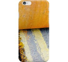 HAMM Roller on Double Yellow Lines iPhone Case/Skin