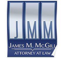 James M. McGill (JMM) Poster