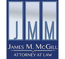 James M. McGill (JMM) Photographic Print