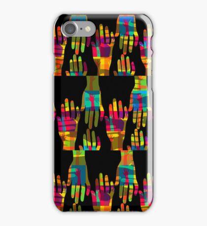 Shake hands iPhone Case/Skin