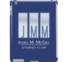 James M. McGill (JMM) iPad Case/Skin