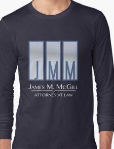 James M. McGill (JMM) Long Sleeve T-Shirt