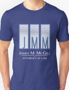 James M. McGill (JMM) Unisex T-Shirt