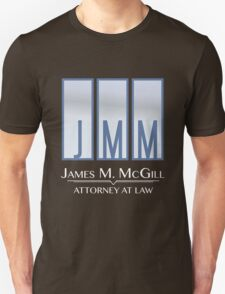 James M. McGill (JMM) T-Shirt