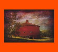 Farm - Barn - Red round barn  T-Shirt
