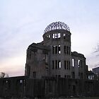 A Bomb Dome, Hiroshima by Christie Harvey