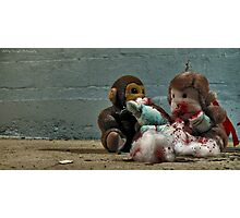 Dahmers toys are acting up again... Photographic Print