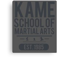 Kame School Canvas Print