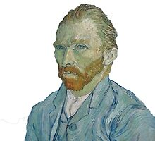 Van Gogh self portrait by sgtplastictramp
