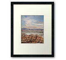 Beautiful Badlands Framed Print