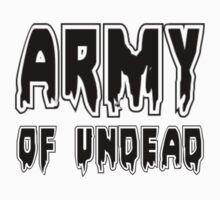 ARMY OF UNDEAD by Zombie Ghetto Kids Clothes