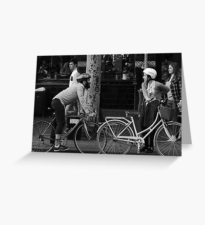 Bikes Greeting Card