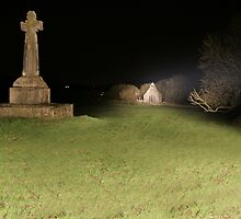 Dysert O'Dea at night by John Quinn