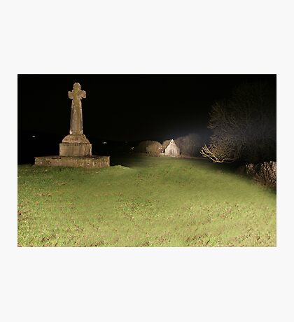 Dysert O'Dea at night Photographic Print