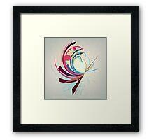 Blossom Abstract Framed Print
