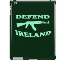 defend ireland ak47 iPad Case/Skin