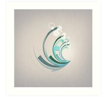 Wave Abstract Art Print