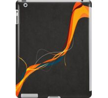 Frayed Abstract iPad Case/Skin