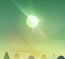 Rolling Hills by Alyn Spiller