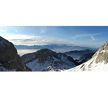 View from Mount Pilatus Photographic Print