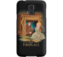 The Girl In The Fireplace Samsung Galaxy Case/Skin