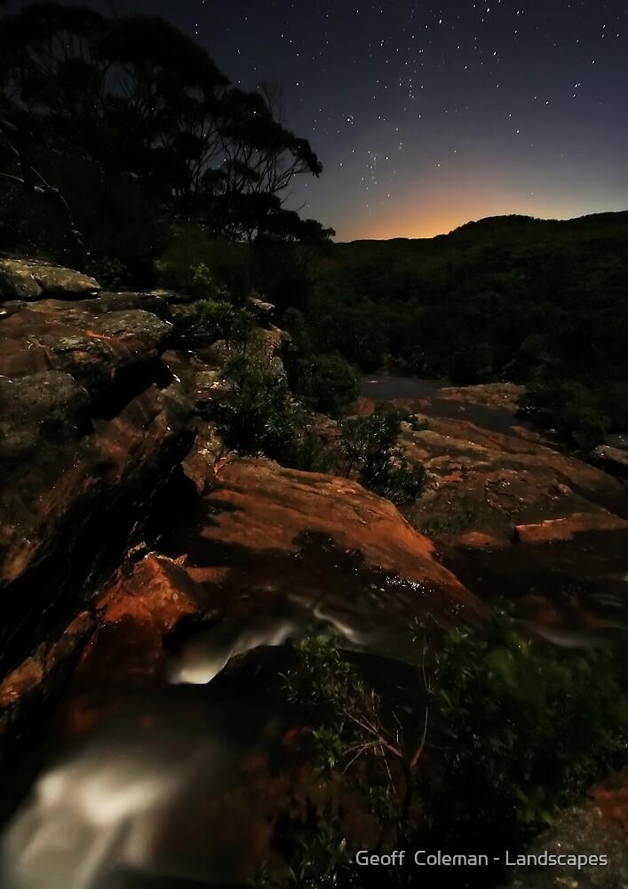 Moonlight Sonata by Geoff  Coleman - Landscapes