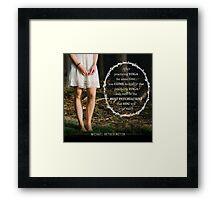 Yoga Psychiatry Framed Print