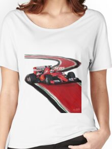 Ferrari SF15-T - Seb5 Women's Relaxed Fit T-Shirt