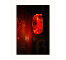 red light district Art Print